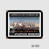 Quadro Atletico Mineiro Galo Copa Brasil 2014 Decor M52 Sala