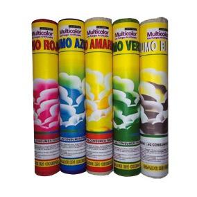 Bengala De Humo Multicolor Fuegos Artificiales Pirotecnia