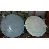 Antiguas Tapas Aluminio Ojo Buey Barco $ 99