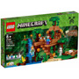 Lego Minecraft 21125 Casa Del Arbol En La Jungla Mundomanias