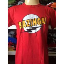 Camiseta Super Heróis Bazinga Frete Grátis