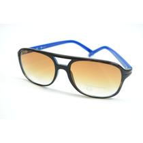 Óculos Sol Guess Haste Azul Estilo Carrera 100% Original