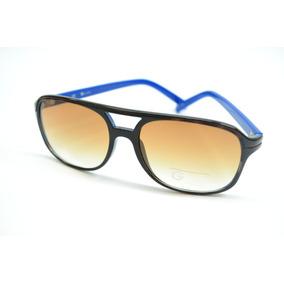 Óculos De Sol Guess Haste Azul Estilo Carrera 100% Original