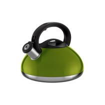 Chaleira Colors Retrô Inox 3l Verde In3145vd - Euro Home
