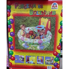 Piscina De Bolinhas - Braskit Contém 150 Bolinhas Coloridas