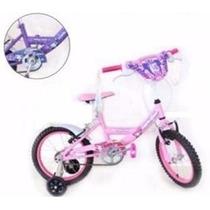 Bicicleta Top Mega Cross Nena Princess Rod. 16