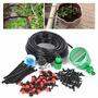 Kit Completo Sistema De Irrigação Gotejamento Com Timer-diy