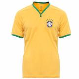 Camisa Brasil Cbf Licenciada Meltex Promoção