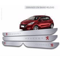 Soleiras Aço Inox Premium Peugeot 206 207 208 307 308 2008