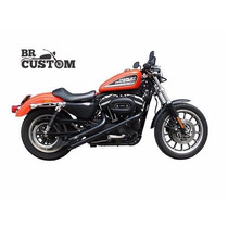Escapamento Fúria Sportster Preto 883/forty-eight/48/hd