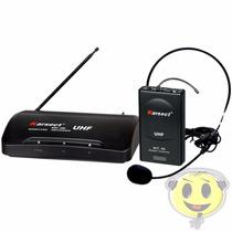 Microfone Sem Fio Karsect Kru 200 Headset Auricular Kadu Som