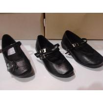 Zapatos Escolar De Niña Numeros Pequeños Disponible