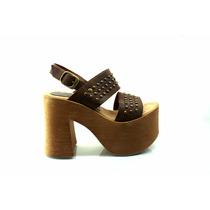Sandalias Taco Alto. Primavera Verano 17. Zapatos Mujer.