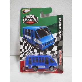 Taxi Mania Mexico Camion Micro Huatulco Azul