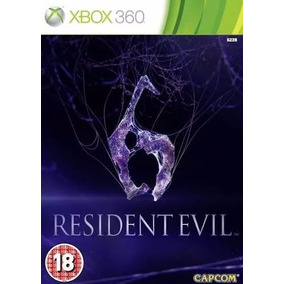 Game Resident Evil 6 - Xbox 360 - Mídia Física