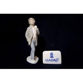 Escultura De Porcelana Espanhola Lladró Nao Andarilho
