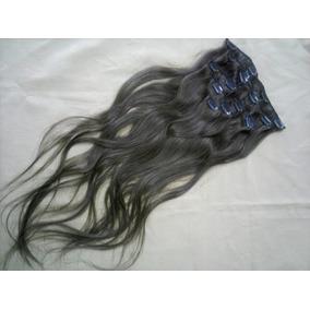 Mega Hair Cabelo 100% Humano Com Tic Tac 8 Peças Cor #r6