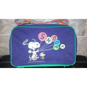 Maleta Snoopy Antigua Peanuts Vintage Retro 70´s Portalap