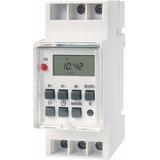 Timer Digital Riel Din Reloj Temporizador Programable 3600w