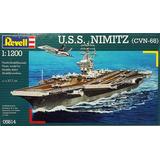 U.s.s Nimitz - Revell 5814 - Esc. 1/1200