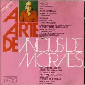 Cd Vinicius De Moraes - A Arte De - Novo***