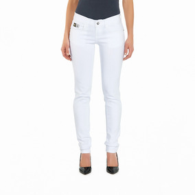 Jeans Oggi Milah Blak Skinny / Cintura Media 555 Mujer