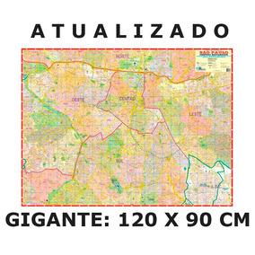 Mapa Cidade De São Paulo Centro Expandido Turismo