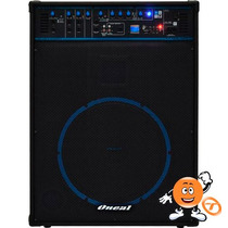Caixa Multiuso Oneal Ocm 1090 Bt Bluetooth 150w Rms / Usb/fm