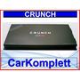 Amplificador Crunch Gtr3000.1 Clase D, Woofers1 Canal Mono