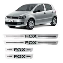 Protetor Aplique Adesivo De Soleira Vw Fox 4 Portas