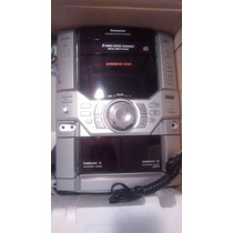 Componente De Sonido Panasonic Con Cargados De 5 Cds