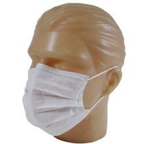Caixa 100 Unid Máscara Elástica Descartável Dupla Descarpack
