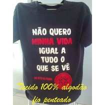 Camisetas Rosa De Saron Evangélica Jesus Deus Banda Camisas