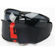 Óculos De Sol Polarizado Police Masculino 100% Uva E Uvb