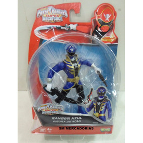Power Ranger Super Megaforce Ranger Azul Figura De Ação