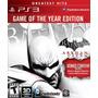 Batman Arkham City Ps3 Nuevo Sellado Fisico Zona 1