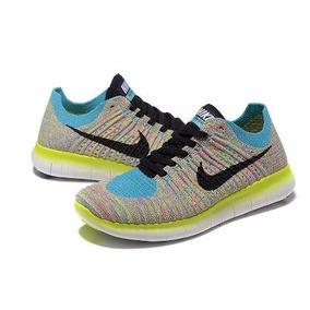 Zapatillas Nike Amarillas Fluor Mujer F Zapatillas Running Nike en