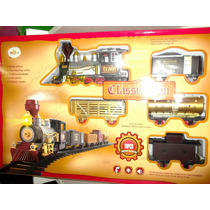 Tren Con Pista, Saca Humo Y Tiene Sonido De Locomotora