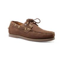 Trender Zapato Casual Estilo Top Sider Color Chocolate