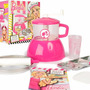 Fabrica Pan Pizza Barbie Glam Original Faydi Tv Casa Valente