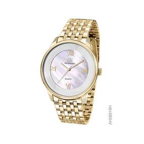 1cb290c5a7a9e Relogio Feminino Dourado - Relógio Ana Hickamnn Feminino no Mercado ...