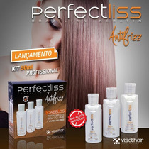 Escova Progressiva Perfect Liss C/turmalina Visat Hair 50ml