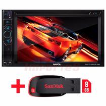 Dvd Multimidia 2din Napoli 6290 Tv Dig, Bluetooth