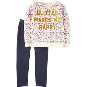 Conjunto Blusa Pantalón Linea Carters Talla 2 Y 4, Años