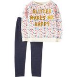 Conjunto Blusa Pantalón Linea Carters Talla 2 Años