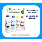 Litro De Tinta Sublimacion Para Epson Series Garantia Total