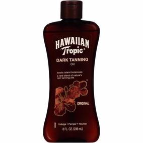 Bronzeador Hawaiian Tropic Dark Tanning 236ml