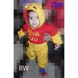 Fantasia Ursinho Pooh Infantil Bebê - Personalizado
