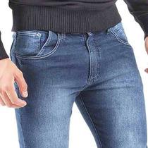 Calça Jeans Masculina Skinny Manchada Lycra Blusa Camisetas