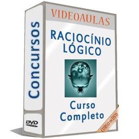 Curso 10 Dvds Raciocínio Lógico Para Concursos Completo